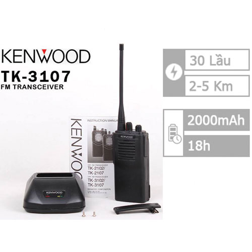 Bộ Đàm Kenwood TK-3107