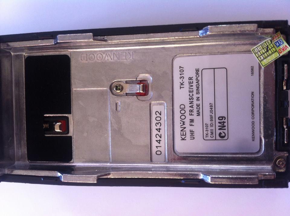 Pin Bộ Đàm Kenwood TK3107