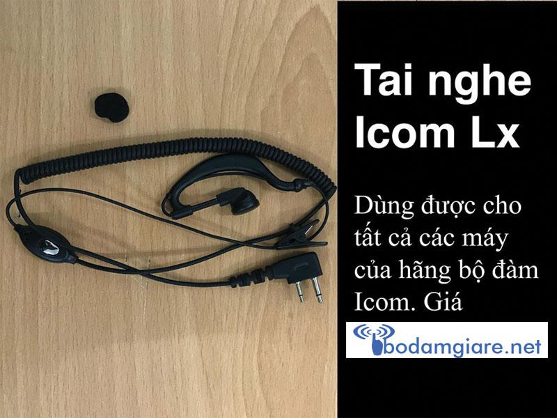 Tai nghe dòng máy Icom