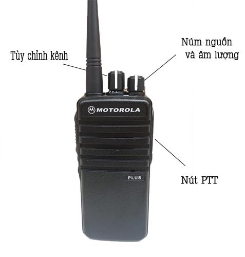 Hướng dẫn sử dụng sản phẩm bộ đàm Motorola