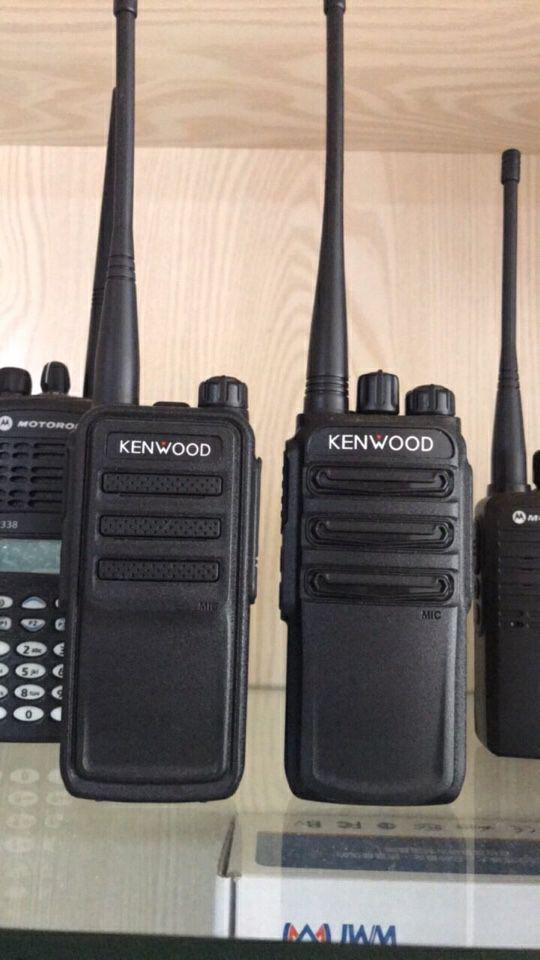 Giới thiệu về thương hiệu bộ đàm Kenwood