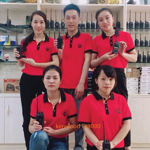 Đội ngũ bán hàng của Bộ Đàm Giá Rẻ