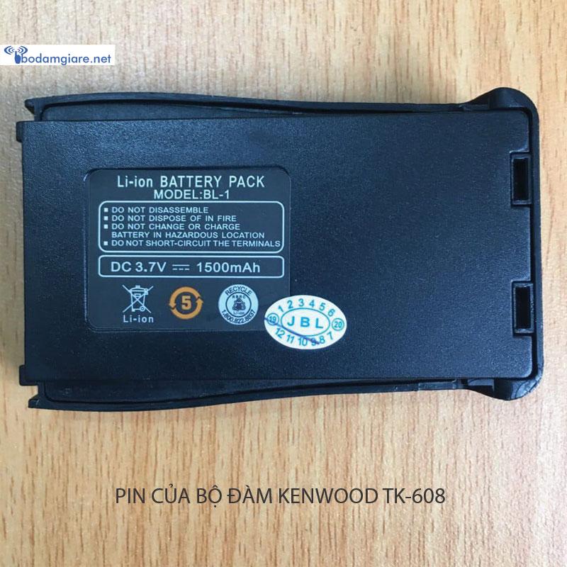 Pin của sản phẩm