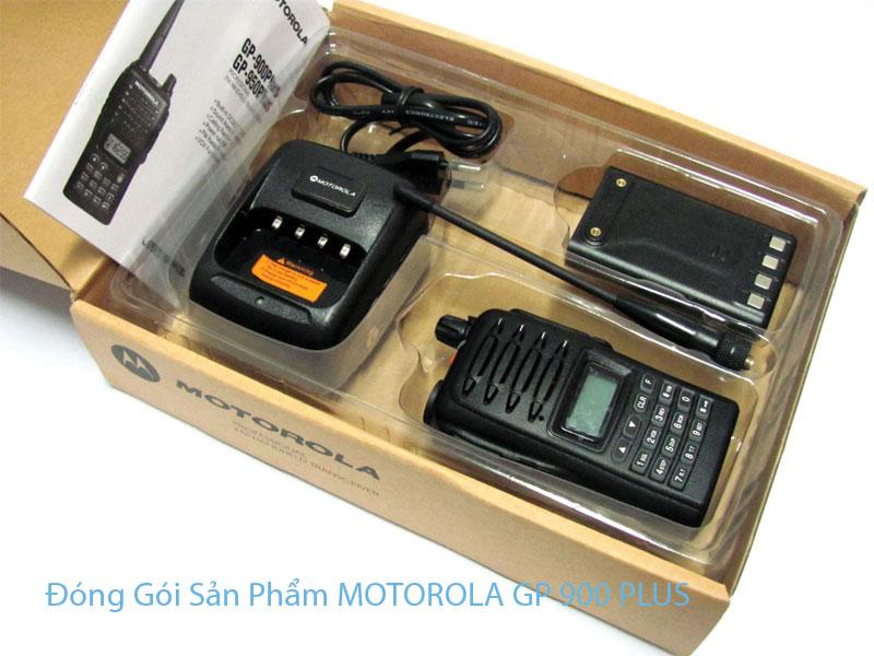 Đóng Gói Sản Phẩm MOTOROLA GP 900 PLUS UHF + VHF